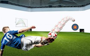 Fussballsimulationsanlage skills.lab