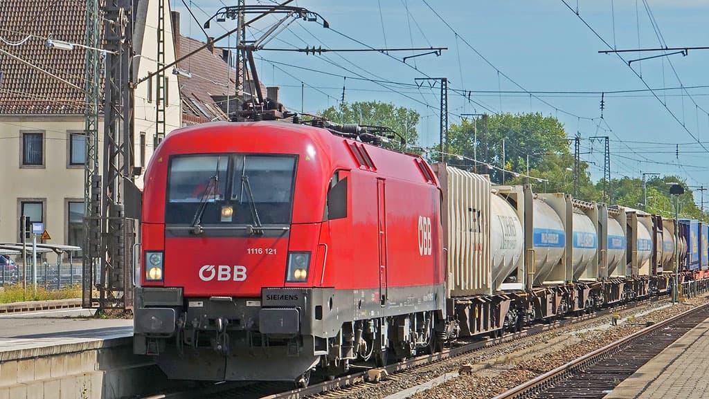 ÖBB Gütertransportzug