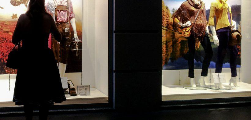 Einkaufen Mode
