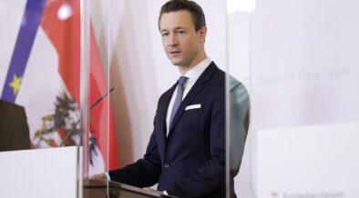 Finanzminister Blümel